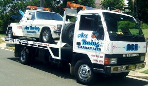 Towing Parramatta